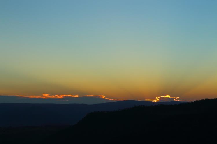 Megalong Sunset 750 x 500
