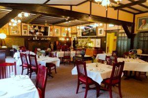 The Chalet Restaurant , Medlow Bath, NSW. Medlow Bath is located between Katoomba and Blackheath.